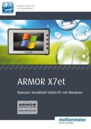 Datenblatt ARMOR X7et - Robust-pc.de