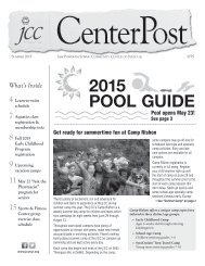 2015 Pool Guide and Summer CenterPost