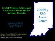 17 Lindsey Bouza School Wellness Policies - Indiana School Health ...