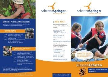 Helmut-Gollwitzer-Haus Wünsdorf - Schattenspringer