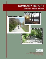 Summary Report Indiana Trails Study - State of Indiana