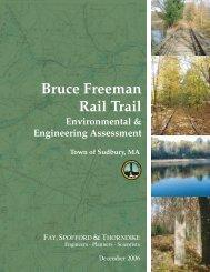 Sudbury Bruce Freeman Rail Trail Environmental & Engineering ...