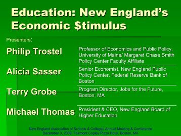 Education - New England Association of Schools and Colleges