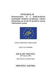 INTEGRAL-B MEETING AGENDA