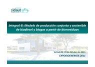 Integral-B: Modelo de producción conjunta y sostenible de biodiesel ...