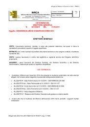 STATO PATRIMONIALE AL 31/12/2010 - Inrca