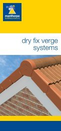 dry fix verge systems