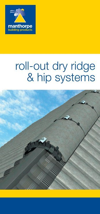 Roll-Out Ridge & Hip Literature - RIBA Product Selector