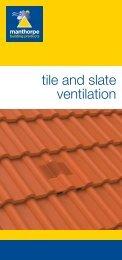 Manthorpe Tile & Slate Ventilation Literature - Issue B.indd