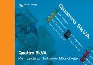 Broschüre Quattro - victron energy