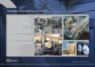 bespoke engineering solutions - The Manthorpe Group