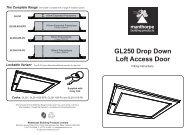 GL250 Loft Access Door Fitting Instructions.indd