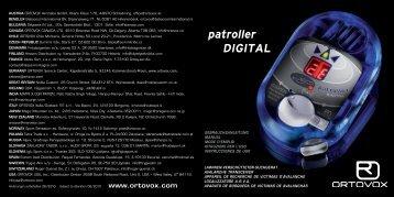 patroller DIGITAL - Avalanche Center