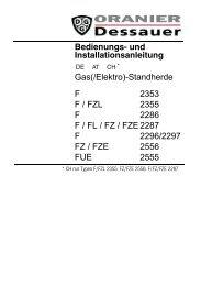 Bedienungsanleitung - vom Hersteller bei → Sparen-ab-Werk.de