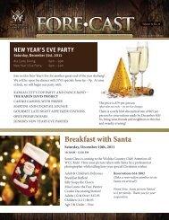 breakfast with Santa - Wichita Country Club