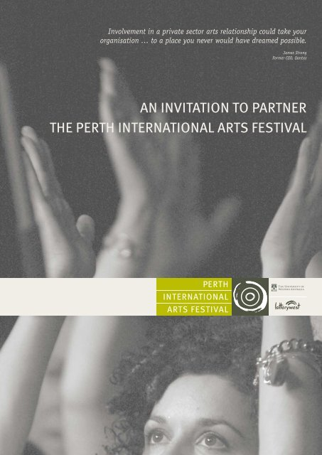 here - 2011 - Perth International Arts Festival