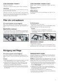 Gebrauchsanleitung - Moebelplus GmbH - Seite 5