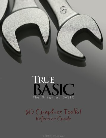 Download the documentation - True BASIC