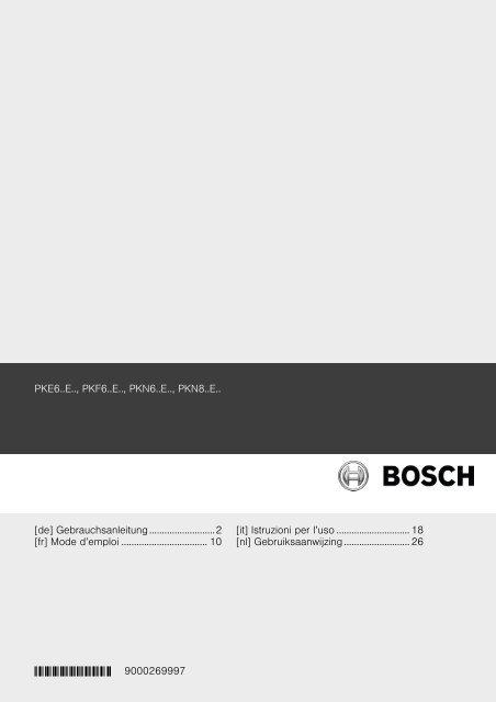 Robert Bosch Hausgerate