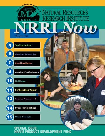 Winter 2012 - Natural Resources Research Institute - University of ...