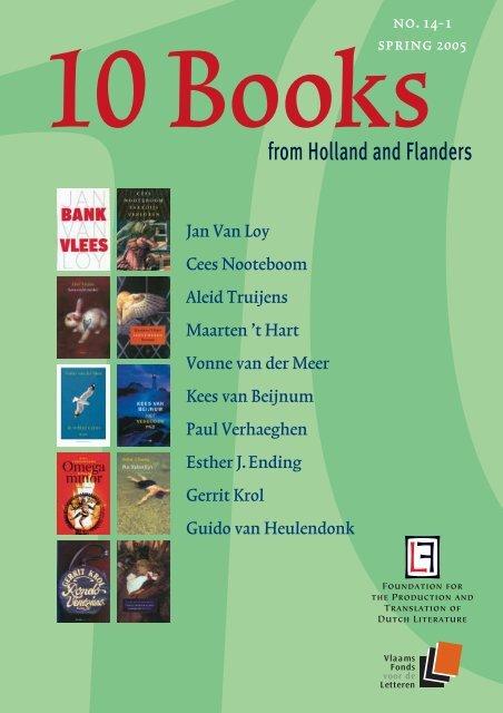 Ten Books 14 3e Nederlands Letterenfonds
