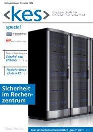 Sicherheit im Rechenzentrum - Informationsdienst IT-Grundschutz