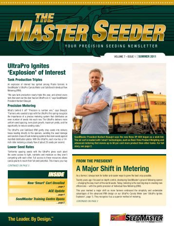 A Major Shift in Metering - The Western Producer