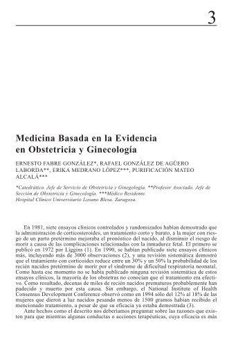 Med. basada en la evidendia... (Page 1) - El Médico Interactivo