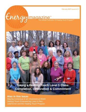 February 2007: Taking a Healing Touch Level 5 ... - Energy Magazine