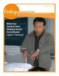 Ugyen Tsewang - Energy Magazine