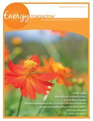 September/October Issue - Healing Touch Program