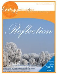 December 2009/January 2010: Reflection - Energy Magazine