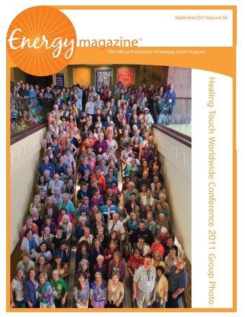 the September issue of Energy Magazine! - Healing Touch Program