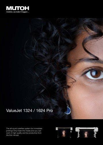 ValueJet 1324 / 1624 Pro - MUTOH Deutschland GmbH