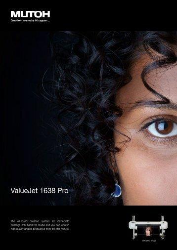 ValueJet 1638 Pro - MUTOH Deutschland GmbH
