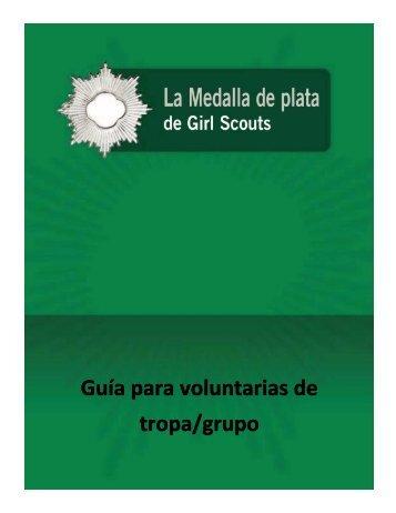 Guía para voluntarias de tropa/grupo - Girl Scouts of the USA