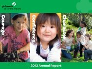 Annual Report - Girl Scouts of Central Indiana
