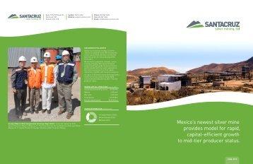 Annual Report - SantaCruz Silver Mining Ltd.