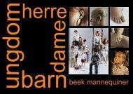 BEEK MANNEQ oppsett 2010 - Butikk Service as