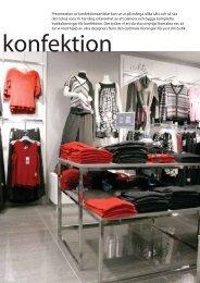 Presentation av konfektionsartiklar kan se ut på ... - Butikk Service as