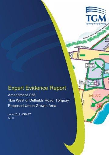 Expert Report, Peter Preece, TGM Group - Surf Coast Shire