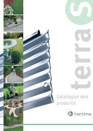 Catalogue des produits - Hortima