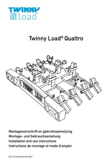 Twinny Load® Quattro - Hollandbikeshop.com