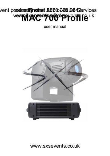 the martin mac 700 profile mike wood consulting llc rh yumpu com martin mac 700 profile manual Mac 700 Wash