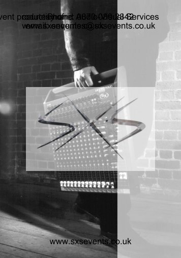 Sound - Soundcraft Spirti SX.pdf - SXS Events