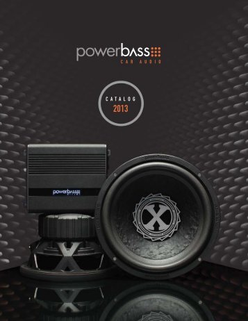 CATALOG 2013 - PowerBass