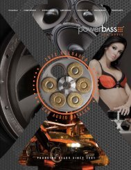 2012 RELOADED CAR AUDIO CATALOG ... - PowerBass