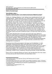 Sabine Sundermeyer Viele Welten leben – Aspekte interkultureller ...