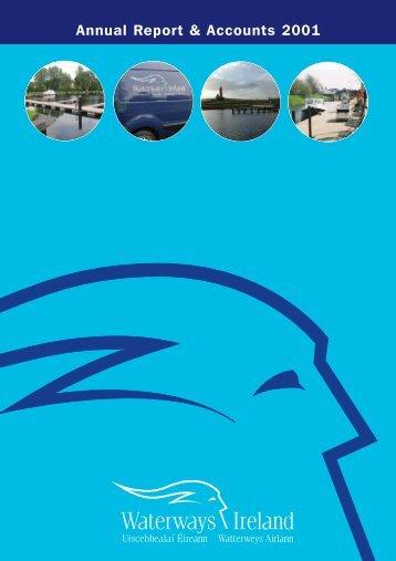 Annual Report & Accounts 2001 - Waterways Ireland