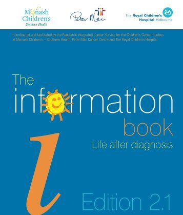 The information book - Paediatric Integrated Cancer Service